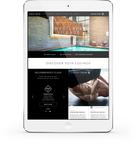 Equinox Digital Experience iPad Home Page (PRNewsFoto/Equinox)