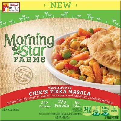 MorningStar Farms Chik'n Tikka Masala Veggie Bowl