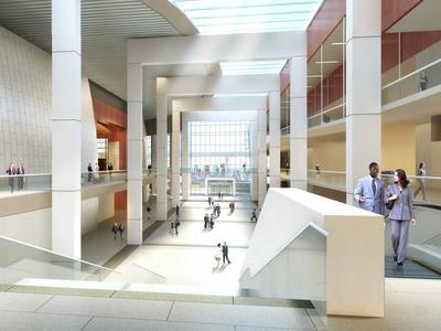 tvsdesign Leads Architectural Team to Restore Detroit COBO Convention Center.  (PRNewsFoto/tvsdesign)