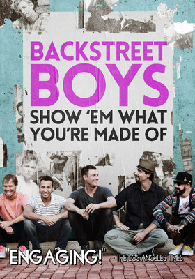 "FilmRise acquires DVD rights to music documentary, ""Backstreet Boys: Show 'Em What You're Made Of"""