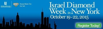 Invitation to Israel Diamond Week in New York - October, 2015