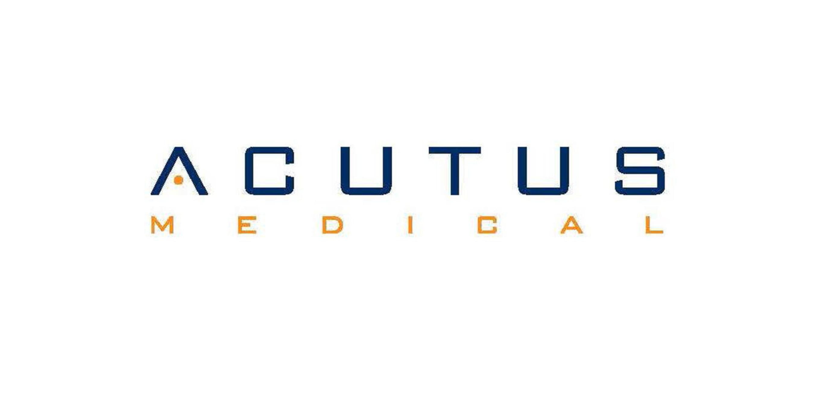 Acutus Medical, Inc. (PRNewsFoto/Acutus Medical, Inc.) (PRNewsFoto/)