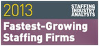 The York Companies is named one of SIA's 2013 Fastest-Growing Staffing Firms.  (PRNewsFoto/The York Companies)