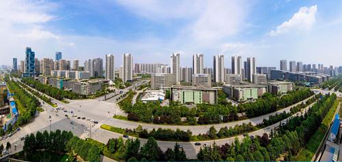 Chengdu, China, embraces both Panda and its own Silicon Valley - Chengdu Hi-Tech Zone. (PRNewsFoto/Chengdu High-tech Industrial Development Zone) (PRNewsFoto/CHENGDU HIGH-TECH INDUSTRIAL ___)