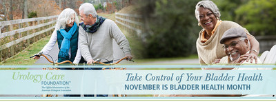 November is Bladder Health Month - Get the Facts. Get Diagnosed. Take Control. www.UrologyHealth.org