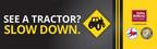 New NC Farm Bureau, NC DOT, NCSHP Tractor Safety Billboard