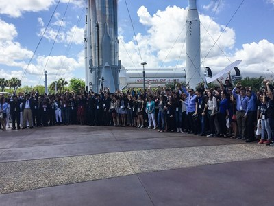 High school teams competed for top honors at the 10th annual Conrad Innovation Summit at NASA Kennedy Space Center Visitor Complex