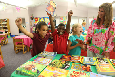 Students show reading success.