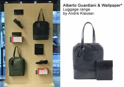 Alberto Guardiani and Wallpaper* Launch New Luggage Range for Milan Design Week