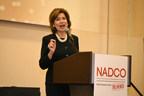 SBA Administrator Maria Contreras-Sweet announces the reinstatement of 504 debt refinancing at NADCO's 2016 Spring Summit in Washington, D.C. Contreras-Sweet says the program would begin operations in June. Photo by Neshan H. Naltchayan.