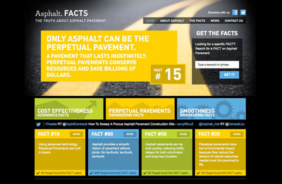 Get the FACTS on Asphalt. AsphaltFACTS.com