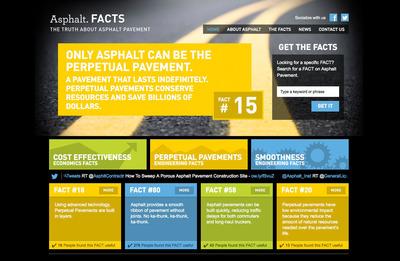Get the FACTS on Asphalt. AsphaltFACTS.com