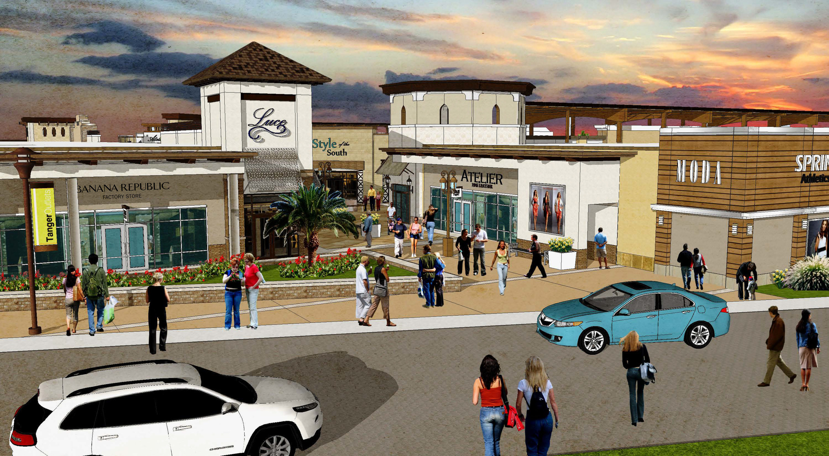 Betere Outlet Giant Revs up Progress on New Tanger Outlets Fort Worth HN-29