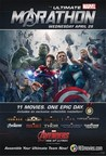 Regal Entertainment Group will host The Ultimate Marvel Marathon starting on Wednesday, April 29 and culminating with the release of Avengers: Age of Ultron on Thursday, April 30