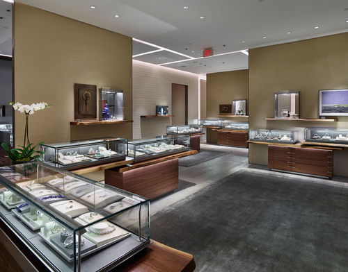 David Yurman Toronto Boutique interior shot at The Yorkdale Shopping Center Toronto, Canada.  (PRNewsFoto/David  ...