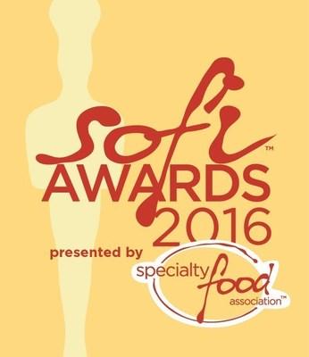 Specialty Food Association 2016 sofi Awards logo
