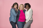 Three ambassadors, who are all breast cancer survivors, are leading the initiative this year for Lee National Denim Day. They are (left to right) Laura Renegar of Charlotte, N.C.; Catherine Aplin of Macon, GA; and Beth Borden-Goodman of Atlanta. (PRNewsFoto/American Cancer Society)