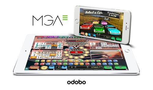 MGA partners with Odobo to bring HTML5 games content to players worldwide (PRNewsFoto/Odobo)