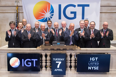 """GTECH and International Game Technology today completed their merger, creating a global leader across the full spectrum of regulated gaming.  The combined company began trading today on the NYSE as """"IGT""""."""