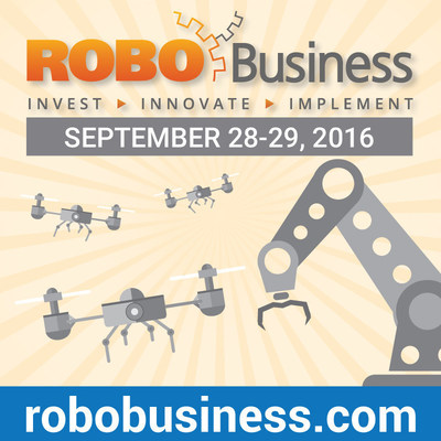RoboBusiness is the international gathering place for professionals who want to create business advantage with robotics. Join over 2,000 attendees from around the world September 28-29, 2016 as they come together to build relationships, solve problems, embrace new ideas and become competitive drivers of the robotics movement. www.robobusiness.com