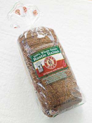 Roman Meal 100% Whole Grain Rustic Italian Bread.  (PRNewsFoto/Roman Meal Company)