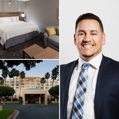 Rick Garcia, a 10-year professional in the hospitality industry, has been named the new general manager for Courtyard Cypress Anaheim/Orange Country. For information, visit www.marriott.com/LGBCP or call 1-714-827-1010.