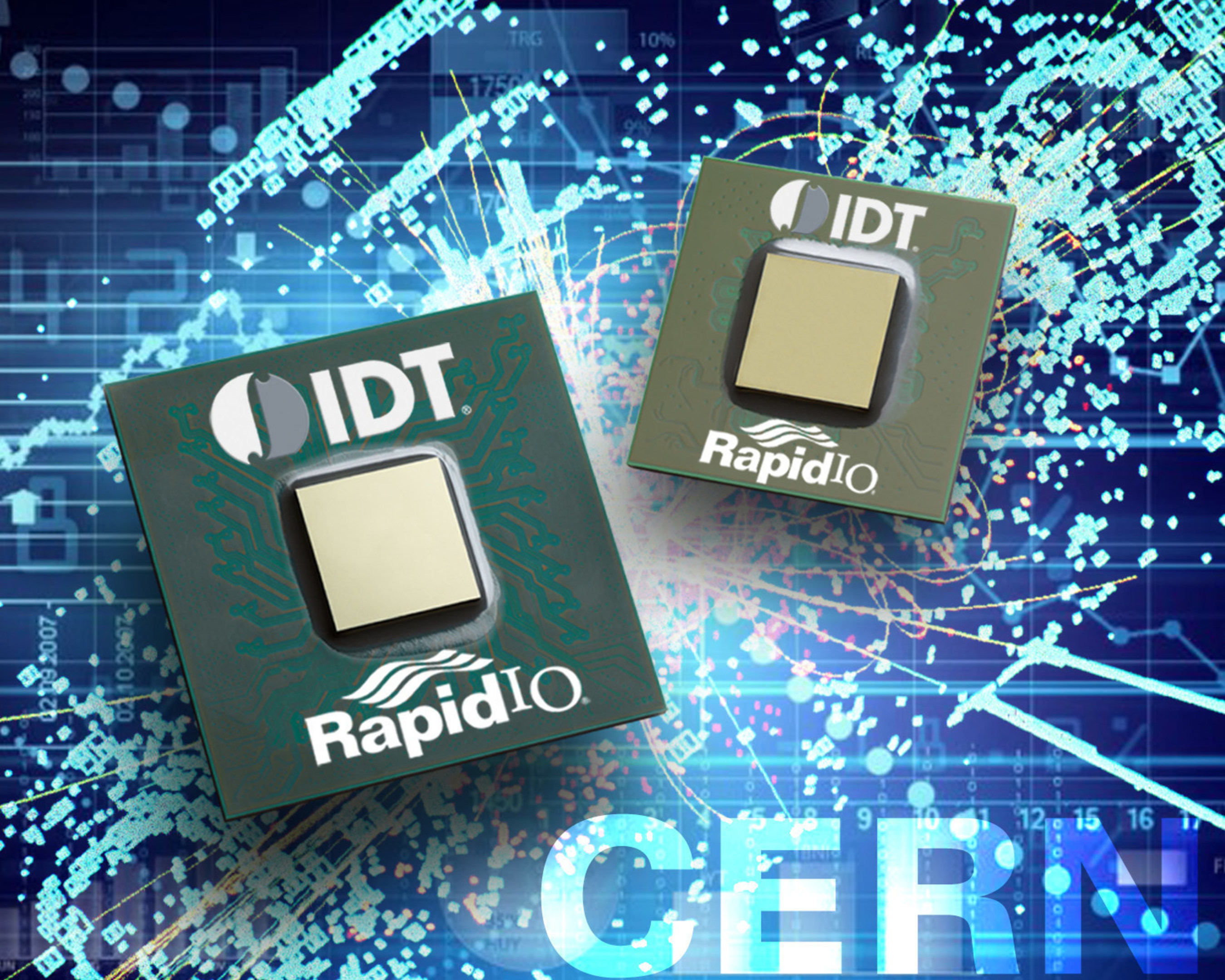 IDT and CERN openlab Engineer Low-Latency RapidIO Platform to Speed and Improve Analytics at Large Hadron Collider and Data Center
