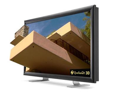 Rembrandt 3D Maestro 3DTV.  (PRNewsFoto/Rembrandt 3D)