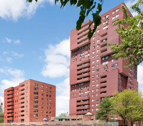 The NHP Foundation partners with the Connecticut Housing Finance Authority to undertake $12.3 million in renovations and extend affordability of Bayview Towers Apartments.  (PRNewsFoto/NHP Foundation)