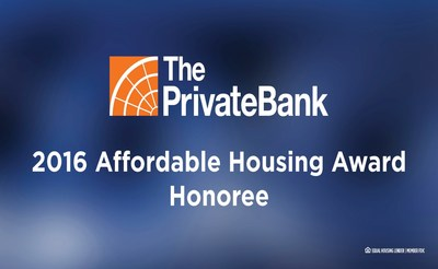 The PrivateBank honors 18 Midwestern organization with 2016 Affordable Housing Award grants.