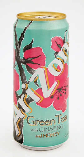 AriZona is offering some of its most popular flavors - including Green Tea -  in 11.5 oz. Sleek(R) cans from Ball Corporation.  (PRNewsFoto/Ball Corporation)