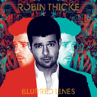 Robin Thicke Announces Highly Anticipated Sixth Studio Album Blurred Lines.  (PRNewsFoto/Interscope Records)