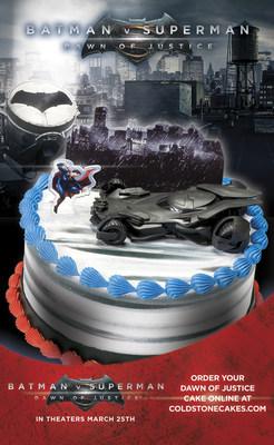 Dawn of Justice Cake