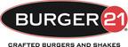 Burger 21 Logo.