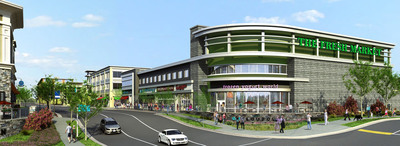 Rendering Of The Fresh Market Grocery Store Located At One Loudoun In Ashburn, Virginia.  (PRNewsFoto/One Loudoun Holdings, LLC)