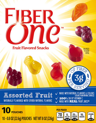Fiber just got some tasty fruit flavor! #SweetTreat