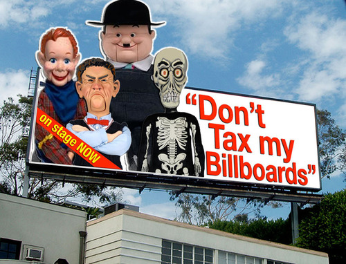 Tax Billboard Act Unanimously Approved by City Council to be Placed on the March 2011 West