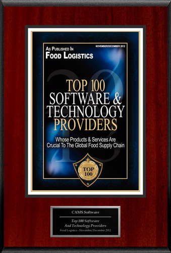 CAMS Software Selected For 'Top 100 Software And Technology Providers'