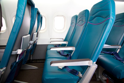 Hawaiian Airlines announced completion of a comprehensive retrofit on the first of its 18 Boeing 717 aircraft, featuring an island-inspired interior cabin redesign and new lightweight Main Cabin seating.