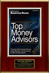 "Tony Wykes Selected For ""Top Money Advisors"""