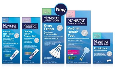 The new Monistat Complete Care product suite