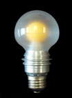 Lighting Science Group's state-of-the-art L Prize LED bulb.  (PRNewsFoto/Lighting Science Group Corporation)