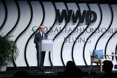 Tommy Hilfiger at the Women's Wear Daily Global Fashion Forum in Beijing