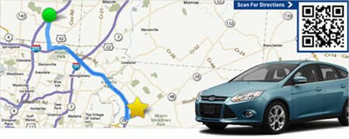 Car dealership near West Chester Ohio.  (PRNewsFoto/DealerFire)