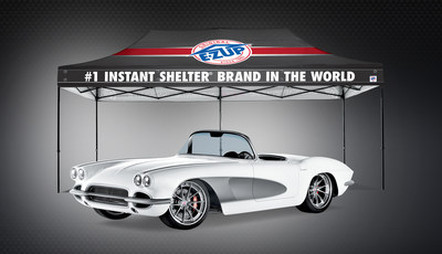 The E-Z UP Pro Touring '61 Corvette featured at the 2016 SEMA Show. www.EZUP.com