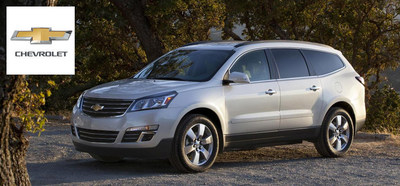 The trio of large 2015 Chevy SUVs available at Chevrolet of Naperville include the new versions of the Chevy Suburban, Chevy Tahoe and Chevy Traverse. All three are among the best vehicles in their class. (PRNewsFoto/Chevrolet of Naperville)
