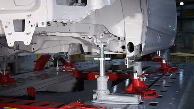Chief Automotive Technologies' new Structural Holding Package enables technicians to build a solid foundation for properly repairing vehicles built with aluminum and high-strength steels. (PRNewsFoto/Chief Automotive Technologies)