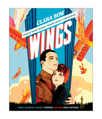 Paramount Home Entertainment Proudly Presents the Very First Best Picture Academy Award(R) Winner WINGS On Blu-ray and DVD For The First Time Ever January 24, 2012.  (PRNewsFoto/Paramount Home Entertainment)