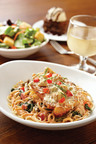 Mimi's Cafe Artichoke Asiago Chicken Spaghettini.  (PRNewsFoto/Mimi's Cafe)