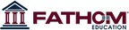 Fathom Education Marketing Logo (PRNewsFoto/Fathom) (PRNewsFoto/FATHOM)